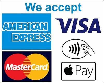 we accept contactless payments